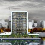 Apele portului Rotterdam vor gazdui primul turn plutitor din lume.
